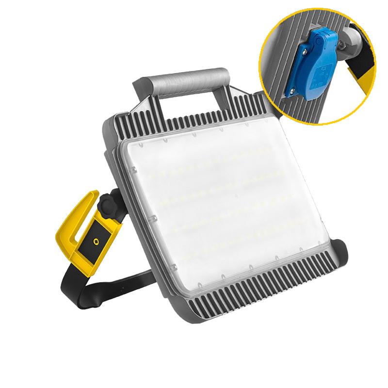 bouwlamp led met stopcontact